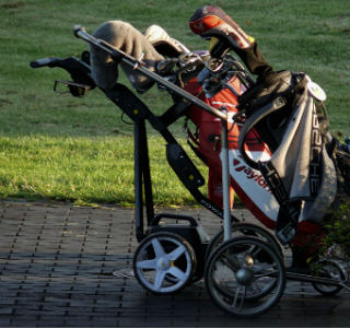 top motorized golf trolley