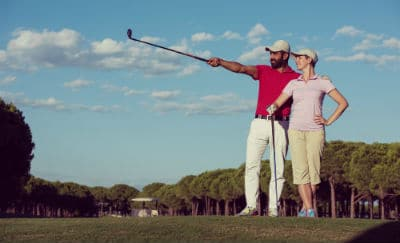 distance measure golfer