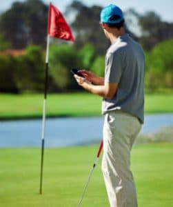 top handheld device golfer
