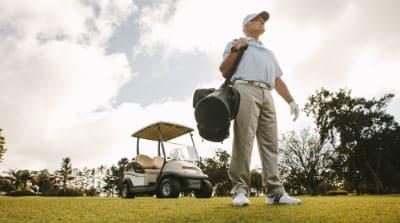 review golf cart bag
