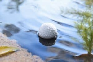 golfer ball water scooper