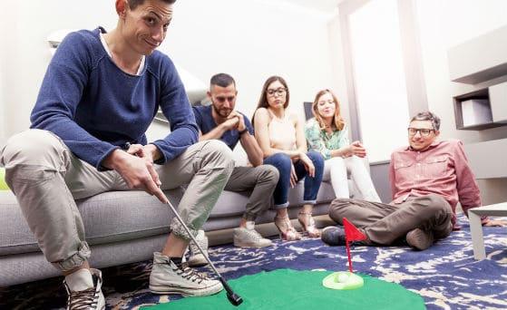 golf putting mat turf