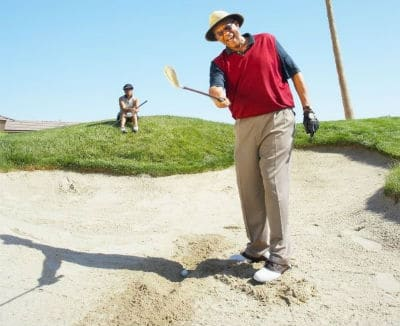 golf wedge sand rough