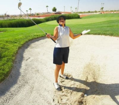sand wedge for bunkers