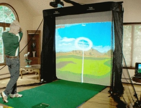 best golf simulators under 1000 500