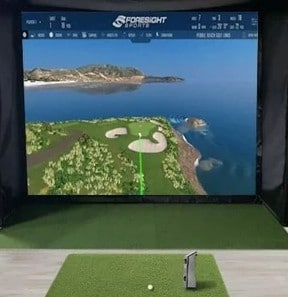 top golf simulation package
